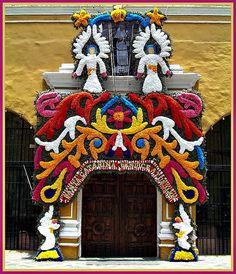 Iglesia de Santa Catarina (Coyoacan, Ciudad de Mexico, Distrito Federal)