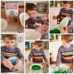 DIY SLIME!  designthoughtsblog.com MAKE YOUR OWN SLIME