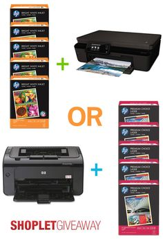 2 lucky winners will be selected to receive a giant Hp prize pack! Here's how to win: Follow Shoplet on Pinterest, repin this post, go to the Shoplet Blog before August 26th & tell us why you want this amazing #giveaway!