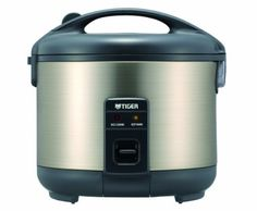 Tiger JNP S18U Electric 10 Cups Uncooked Rice Cooker and