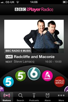 "BBC iPlayer Radio App.  My colleague put it perfectly: ""the scrolly wheel thing makes me so happy!"""