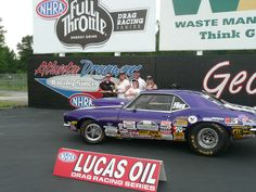 NHRA Super Street & Super Comp's Michelle Furr Earns Lucas Oil Division 2 Wally at Atlanta Dragway