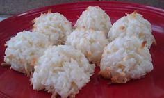 Coconut Macaroon Cookies (Gift Mix in a Jar) from Food.com: Gift jar directions at bottom of the recipe - add onto a recipe card and attach to the gift! Or skip the gift making and indulge yourself with this treat!! NOTE: This recipe is to be prepared one QUART size wide mouth canning jar and will yield 3 dozen cookies.