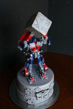transformers cakes, transformer cake, transform cake, birthday cakes