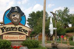 Pirate's Cove Adventure Golf in Rapid City, South Dakota