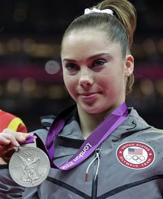 Congrats to McKayla! Silver!