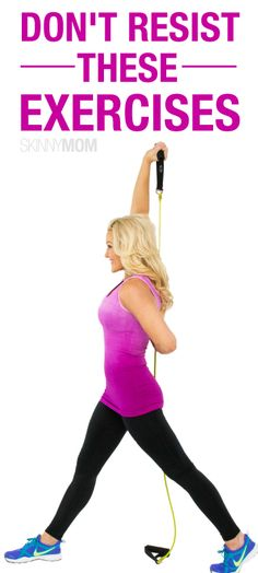 You won't be able to resist these resistance band exercises!