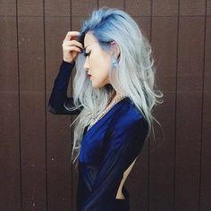 #cabelo #azul #hair