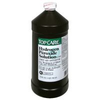Hydrogen Peroxide- it has strong oxidizing properties and is a powerful bleaching agent. It is also great to use as a disinfectant for the entire bathroom and toilet bowls.