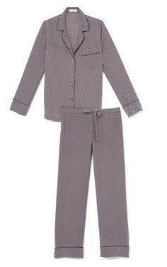 Equipment Black Avery Pajama Set