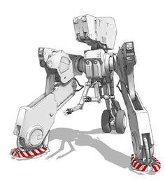robot illustration join us http://pinterest.com/koztar