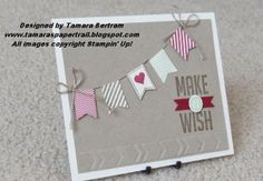 Handmade Card; Occasions 2014; Sale-a-brations 2014; SAB 2014; Stampin' Up!; Tamara's Paper Trail