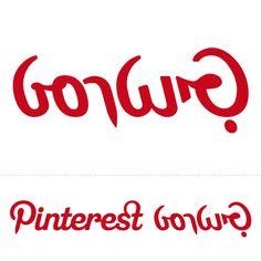 http://pinterestbutton.biz Pinterest logo in Hebrew,  A project by Oded Ezer's students Marvelous