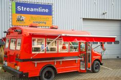 Mini food truck Sweden