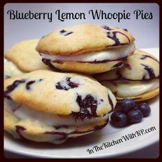 Blueberry Lemon Whoopie Pies