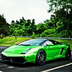 MarcCavallo's Chrome Green Lamborghini Gallardo
