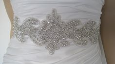 Crystal belt weddingwedding dress by Diamondweddingveil on Etsy, $79.00