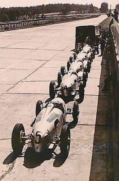 Auto Unions, 1937