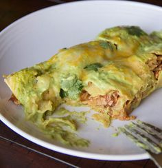 Turkey Avocado Enchiladas and other great recipes for Cinco de Mayo from Dinners, Dishes & Desserts