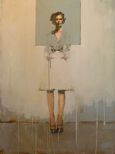 I have an almost emotional reaction to this painting.  The substance of this figure is so tenuous... it feels familiar.