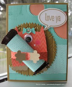 Stampin' Up! Valentine by Canopy Crafts: Monster Hugs