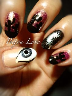 31 Day Nail Challenge day 24: Inspired by a BOOK, The Host…abso-freakn-lutely love this book. Can't wait for the movie in 2013!!!!