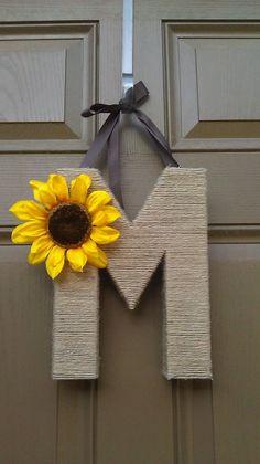 Cute idea for front door.