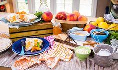 Home & Family - Recipes - Cristina Cooks: No-Bake Peach Pie   Hallmark Channel