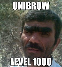 Unibrow champion of the world