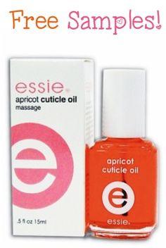 FREE Essie Apricot Cuticle Oil Sample! #nails #manicure