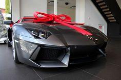 Lamborghini Aventador  Best Xmas/birthday present? I think so....