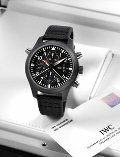 IWC Pilot's Watch Top Gun Double chronograph ceramic