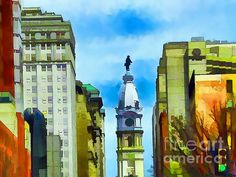 Spirit Of Philly by Robyn King  #spirit #Philly #city #hall