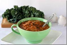 Hearty Vegan Kale Soup