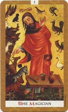 Magician from the Golden Tarot