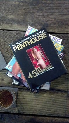 Need a coffee table accessory? Penthouse's 45th Anniversary Book featuring the hottest girls since 1969 is perfect! @PenthouseStore.com.com
