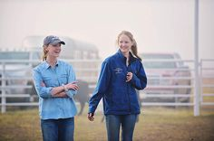 Alex and paige drummond working calves by ree drummond the pioneer