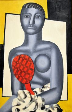 Fernand Leger - Woman with a Mirror.