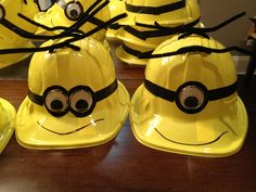 Minion hats!  Birthday parties, despicable me!