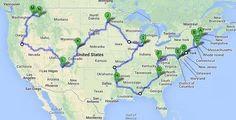 Driving the 48 contiguous states