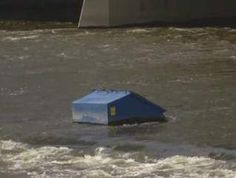 Grand Rapids, Michigan: River too high to remove Dumpster | WOOD TV8 I can't decide if this story is funny, sad, or pathetic!