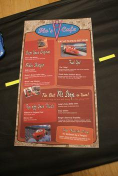 Disney/Pixar's Cars Movie Night   CatchMyParty.com