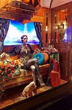 The Harrods Christmas Express 2013 http://www.harrods.com/content/misc/boutiques/gift-guide?cid=scm_pip_pint_gift_181113 #shop #store