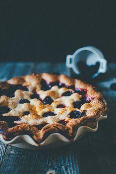 blueberry + blackberry pie.