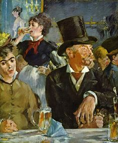 Artist: Edouard Manet Title: The Cafe Concert