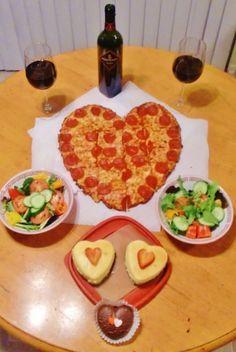 Amazing valentine's day dinner, Valentine's Day dinner I made for hubby