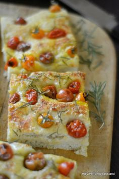 Summer Tomato Focaccia - The View from Great Island
