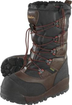 """""""I bought these boots for a February excursion from Fairbanks to Nome. Temperatures down to -50 and not a problem at all. You can put foot warmers in these boots, but never needed...sturdy, good traction soles for snow and ice. Can't say enough good stuff about this product."""" - customer review"""