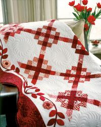 Yummy red quilt