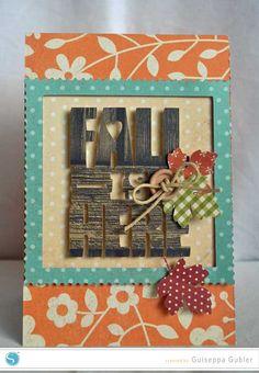 Silhouette America Blog | Fall Card